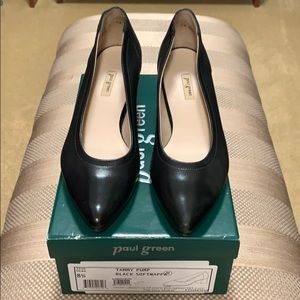 Paul Green Tammy pump size 8.5 black soft leather